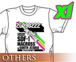 OT0278  超时空要塞 20090222 T-shirt 白色 XL