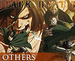 OT2059  Attack on Titan Panorama Tapestry A
