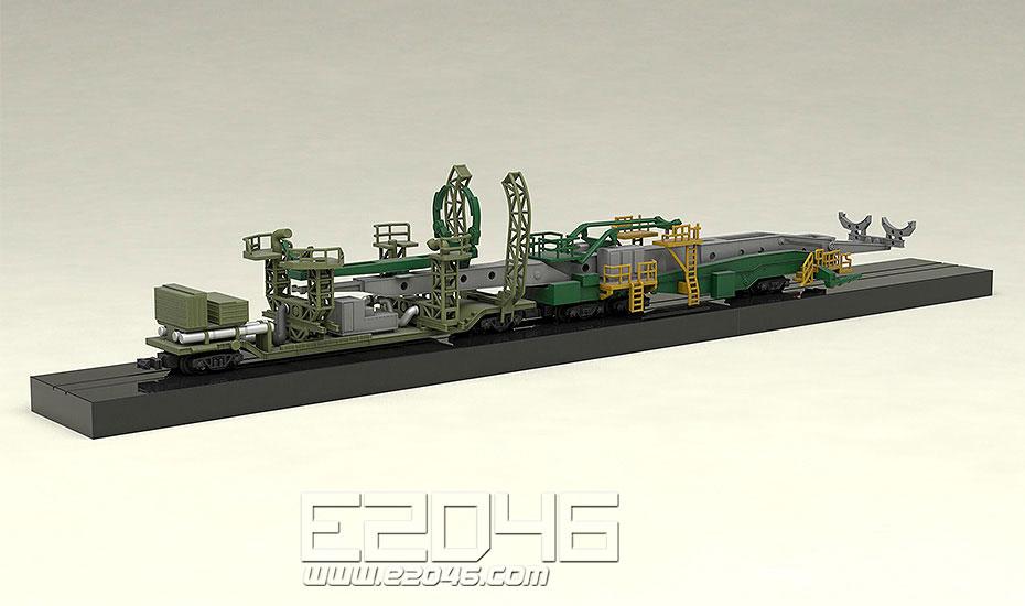 Soyuz Rocket & Transport Train