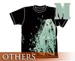 OT0166  Hatsune Miku -Project DIVA- T-shirt Black M