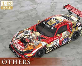 OT2429 1/43 GOOD SMILE RACING 与 TYPE-MOON RACING 2019 SPA24H 版