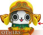 OT1584  奇猿狐装备艾路猫换装布偶