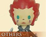 OT0064  Kingdom Hearts Avatar Mascot Strap Axel