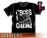 OT0464  Crossbone Gundam T-shirt Black L
