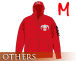 OT0163  One Piece Ace Zip Parka Red M