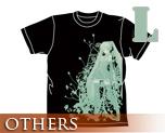 OT0167  Hatsune Miku -Project DIVA- T-shirt Black L