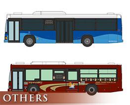 OT3045 1/150 Keisei Transit Bus 20th Anniversary 2 Car Set