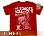 OT0676  Transformers Animated Optimus Prime T-shirt Red S