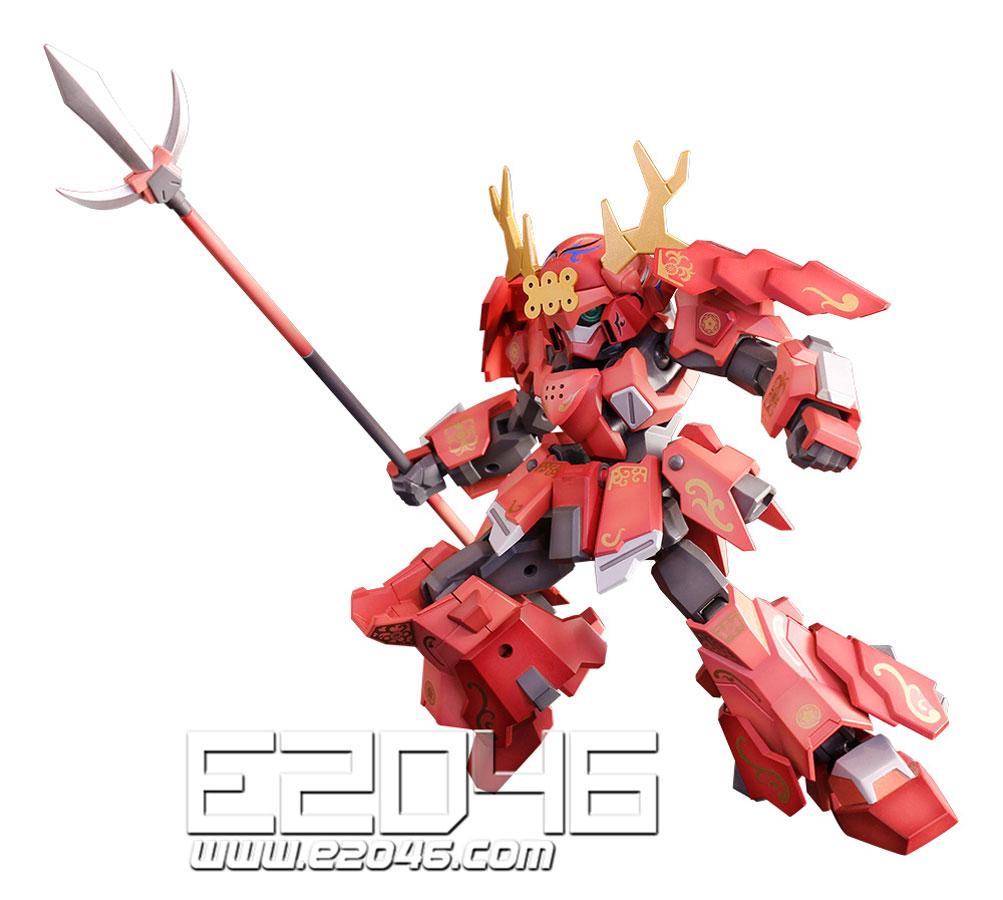 PLA-ACT 10 Sanada Armor Decoration Version