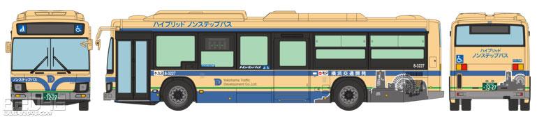 Japan Bus Collection 80 JH038 Yokohama Traffic Development Limited