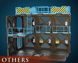 OT3080 1/24 Fortifications B