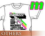 OT0276  超时空要塞 20090222 T-shirt 白色 M