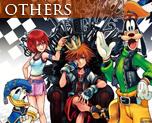 OT1458  Kingdom Hearts 1.5 HD Remix Wall Scroll