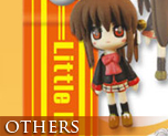 OT0019  Little Busters! Ecstasy Mascot Strap A (Rin and Doruji)