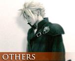 OT0920  Final Fantasy VII AC Wall Scroll Cloud