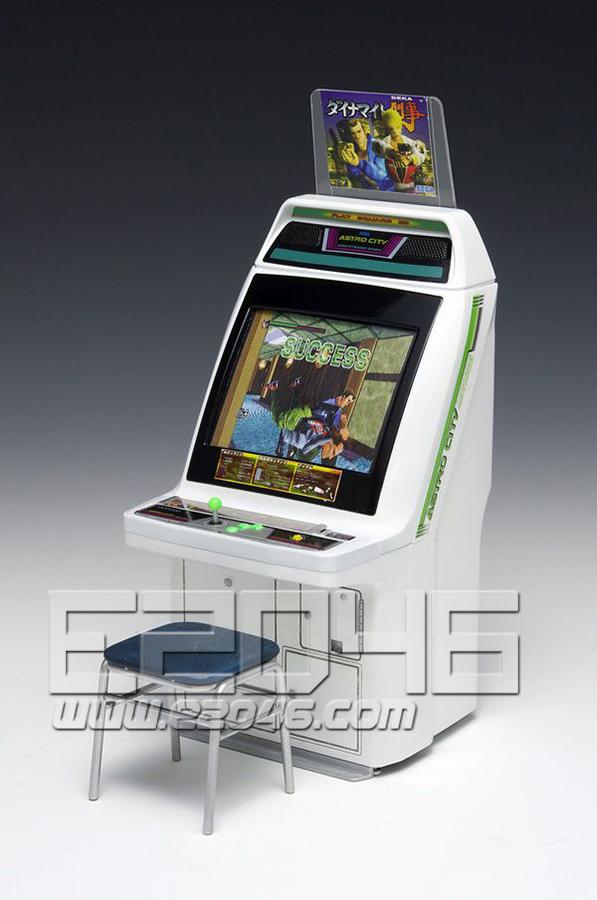 New Astro City Arcade Game Machine SEGA Titles