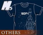 OT0279  超时空要塞 SDF-1 T-shirt 靛蓝色 M