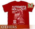 OT0677  Transformers Animated Optimus Prime T-shirt Red M