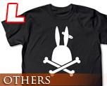 OT0270  监狱兔 骷髅 T-Shirt L