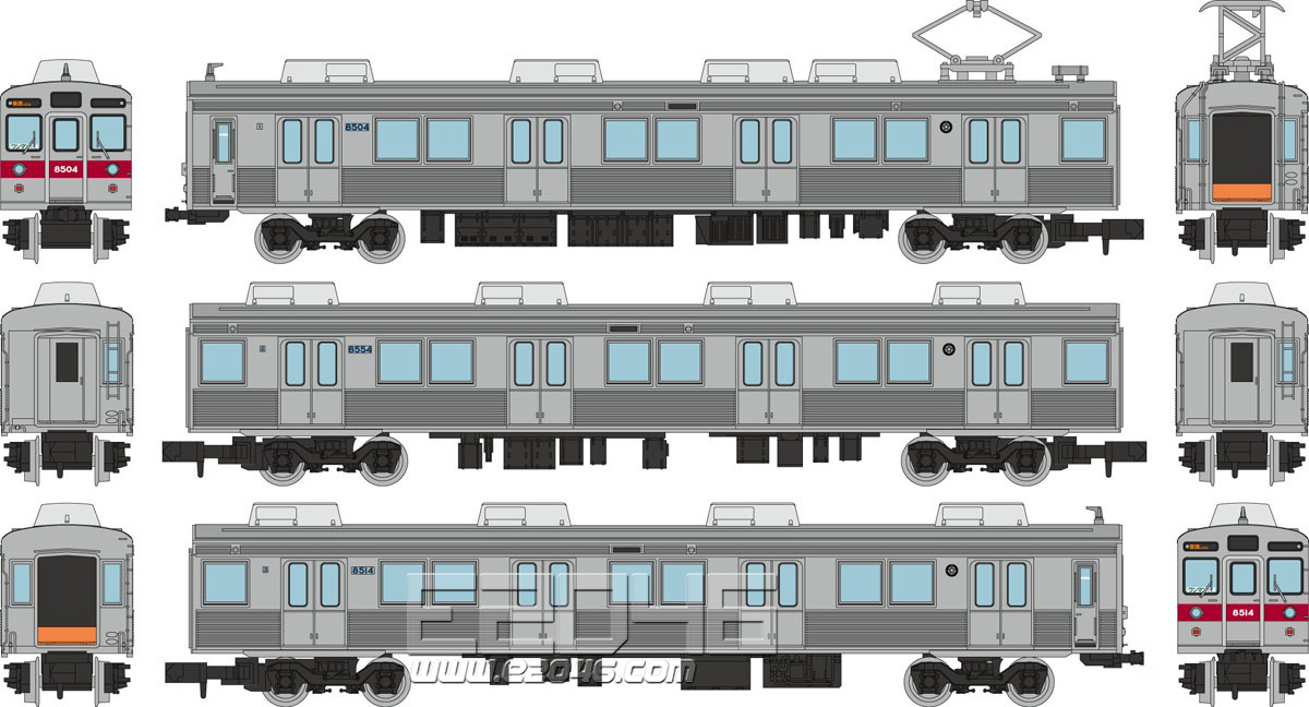 Railway Collection Nagano Electric Railway 8500 Series