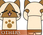 OT1136  Monster Hunter Airou Dakimakura
