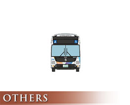 OT3075 1/150  Keisei Bus Tokyo BRT Articulated Bus