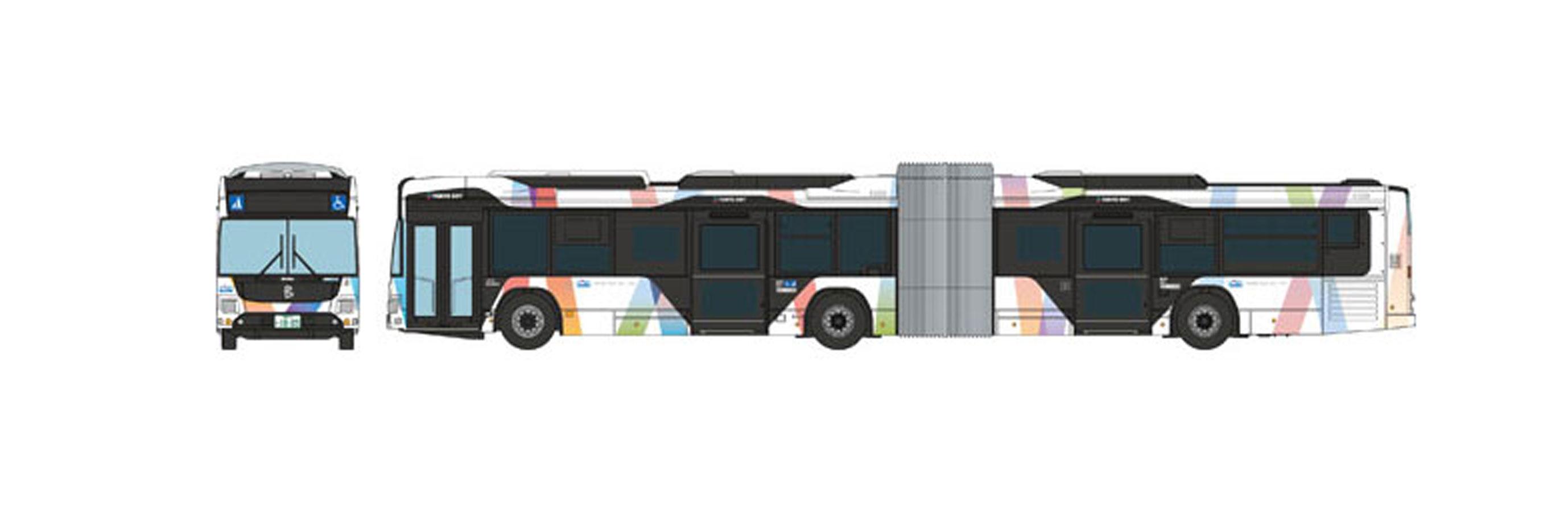 Keisei Bus Tokyo BRT Articulated Bus