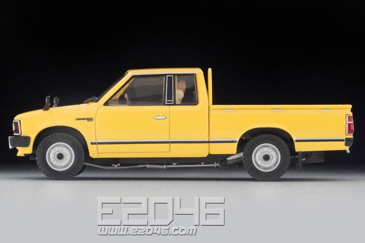 TLV-N43-27a Datsun King Cab 4WD (Yellow)
