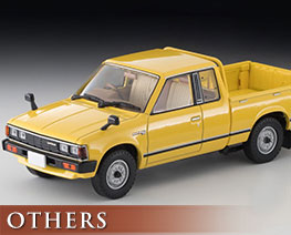 OT2304 1/43 TLV-N43-27a Datsun King Cab 4WD (Yellow)
