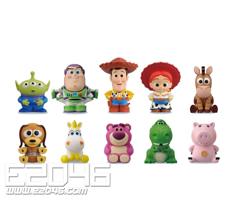 Toy Story Soft Vinyl Puppet Mascot