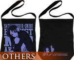 OT0535  K-on! Akiyama Mio Shoulder Tote Bag Black