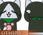 OT1137  魔物猎人美拉路猫抱枕