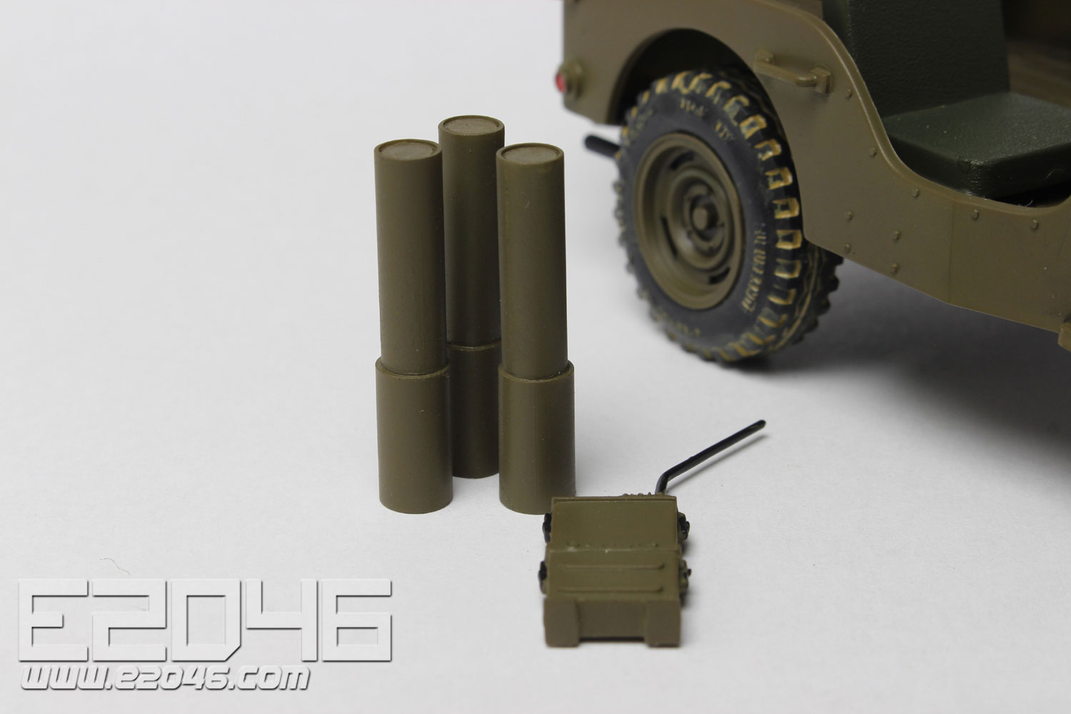 Godzilla Defense Party 105mm Reaction-free Mounted MB