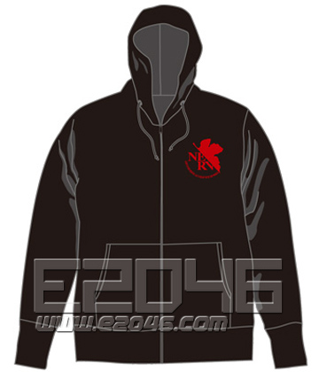 Evangelion Nerv Parker Black S
