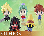 OT2190 SD Final Fantasy Trading Arts Mini 6 pieces Vol.2