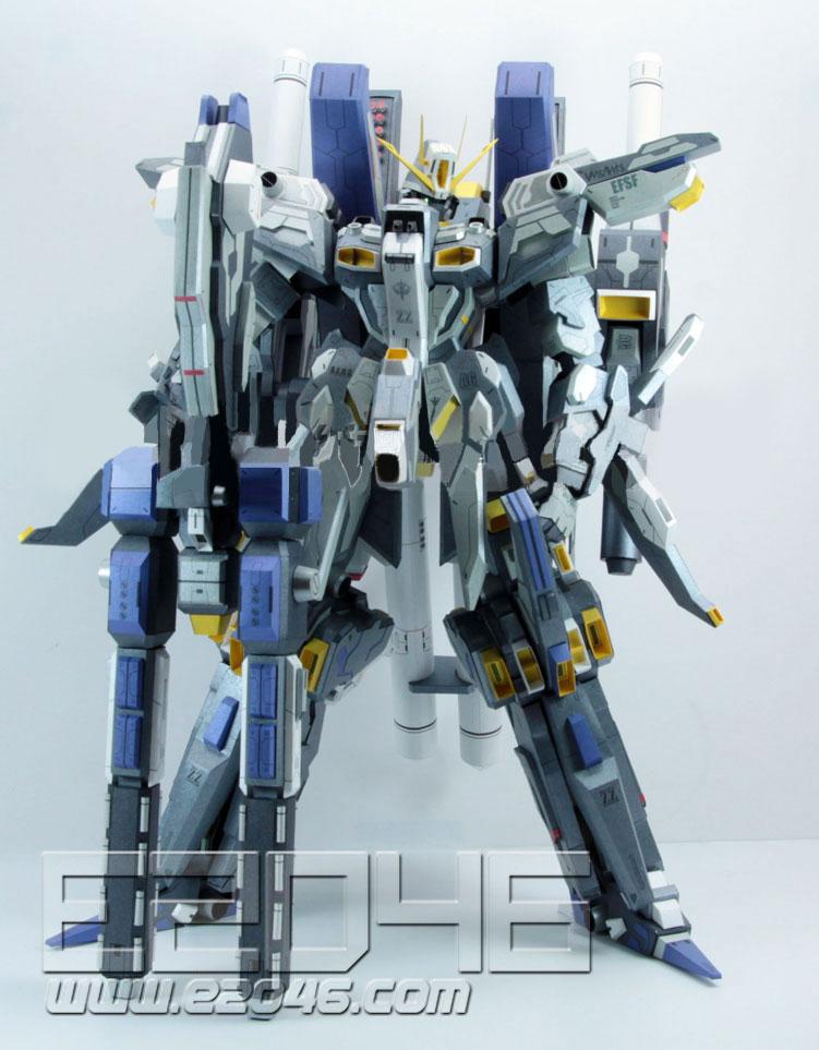 MSZ-010 ZZ Gundam Dark Version