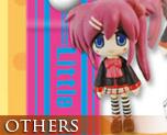 OT0020  Little Busters! Ecstasy Mascot Strap B (Haruka and Kanata)