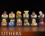 OT2095  Street Fighter II Losing Face Collection Vol. 1 (PVC)