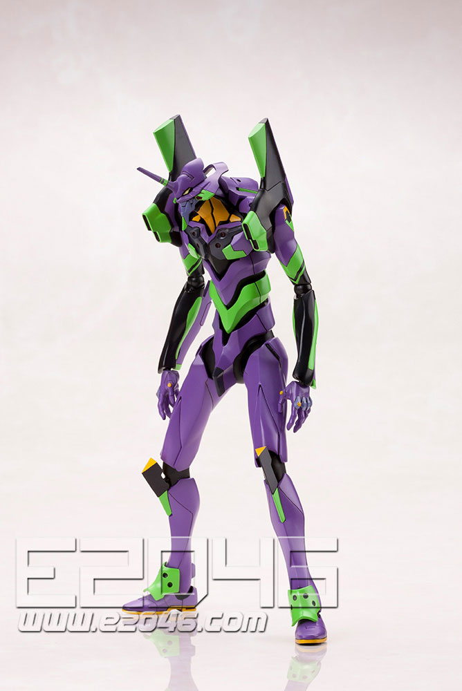 Evangelion EVA-01 with Spear of Cassius
