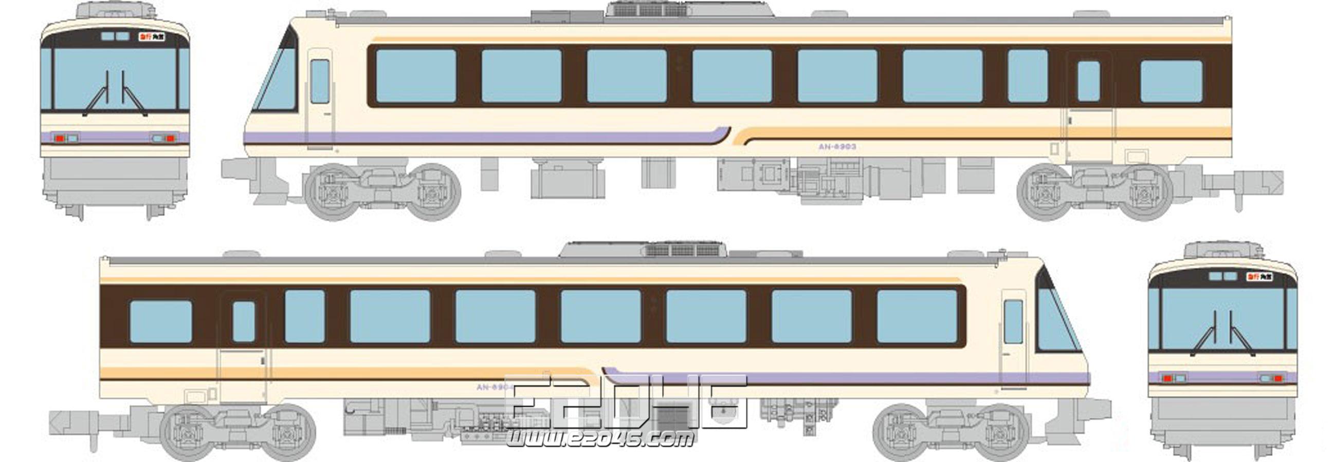 秋田内陆运输铁路 AN8900