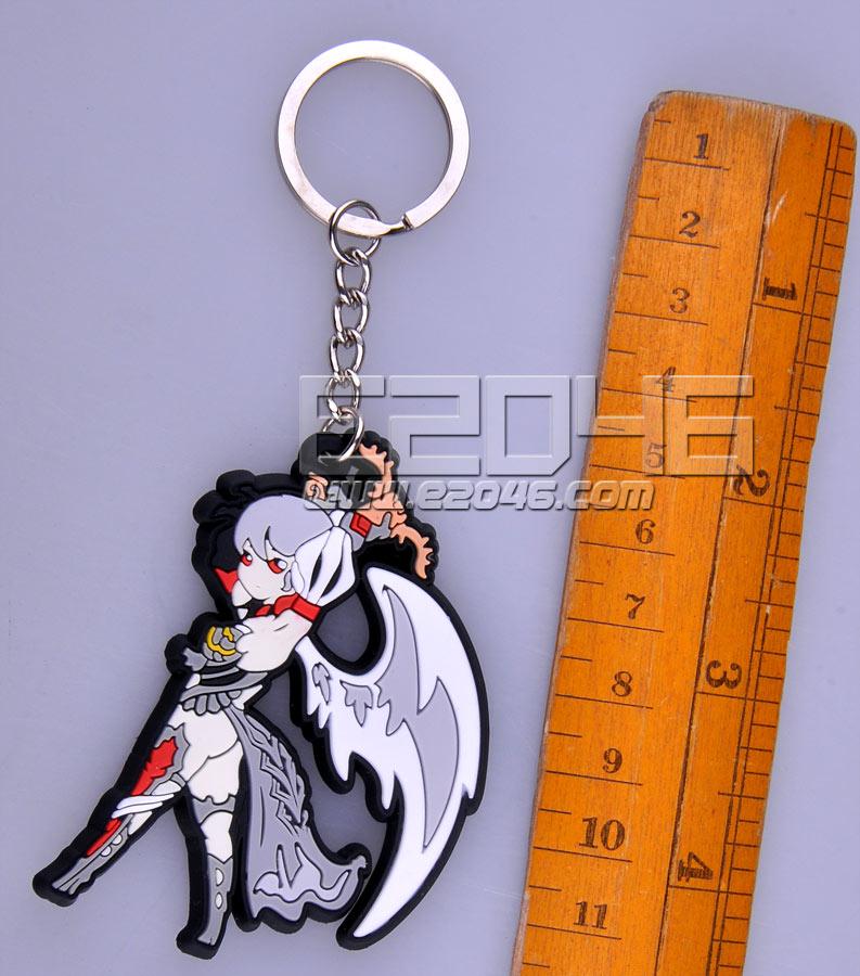 暗翼天使锁匙扣