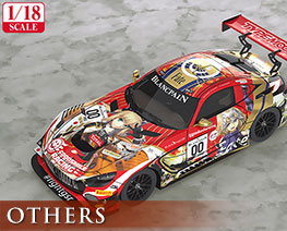 OT2430 1/18 GOOD SMILE RACING与TYPE-MOON RACING 2019 SPA24H版