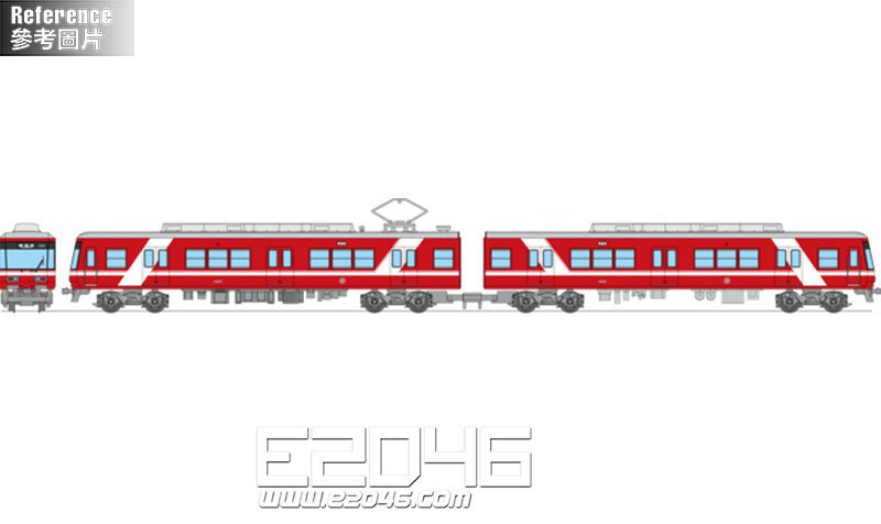 Railway Collection Ensyu Railway Type 1000 (1001 Formation) 2 Car Set A