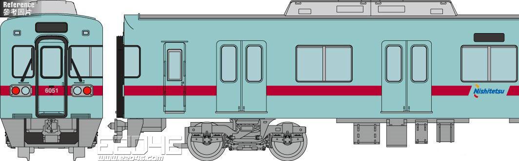 Railroad Type 6050 Renewal Version 6051 Formation Basic 4 Car Version