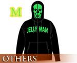 OT0880  Jelly Man Full Zip Parka Black M