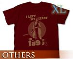 OT0835  不知火舞 T-Shirt 暗红色 XL