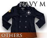 OT0120  Gundam Zeon Design Pea Coat Navy M