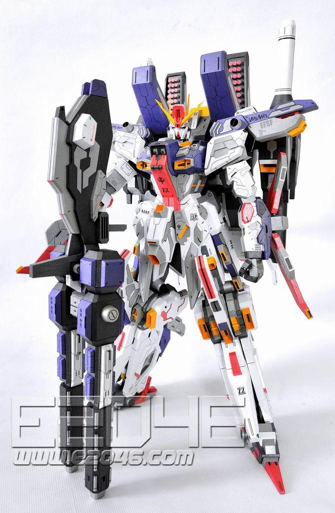 MSZ-010 ZZ Gundam Original Color Version