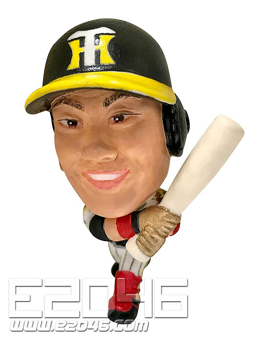 16D Trading Figure Collection Hanshin Tigers 2019 Version