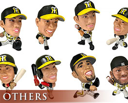 OT2372  16D Trading Figure Collection Hanshin Tigers 2019 Version